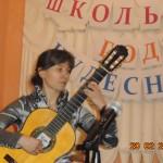 Петрова А.А.- выпускница 2000 г., преподаватель школы