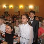 Первоклассники произнесли клятву Юного музыканта