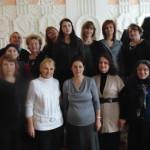 Участники Открытых педагогических чтений, посвящённых году Литературы в России