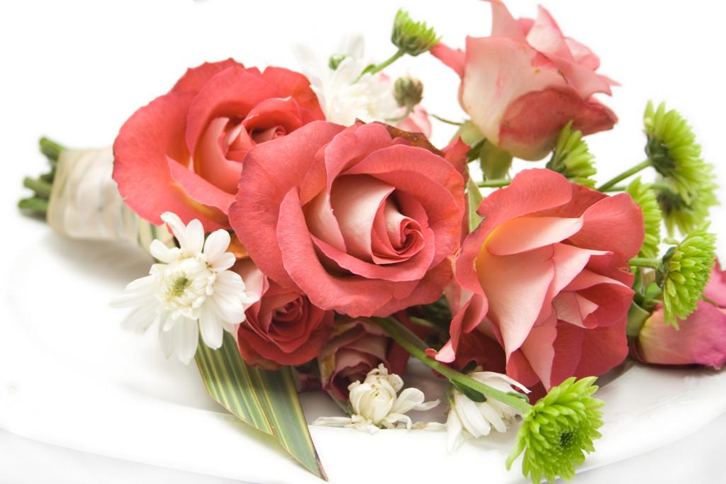 Цветы для поздравлялки
