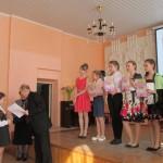 награждение участников II возрастной  группы